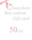 Gift Voucher 50 CHF