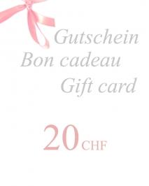 Gift Voucher 20 CHF