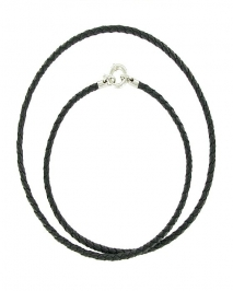Long Leather Necklace